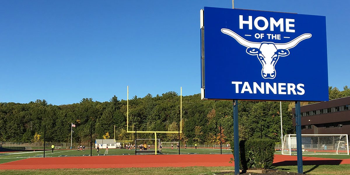 Peabody's Veteran's memorial High School - Home of The Tanners
